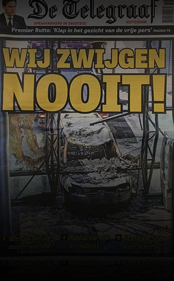 Voorpagina De Telegraaf