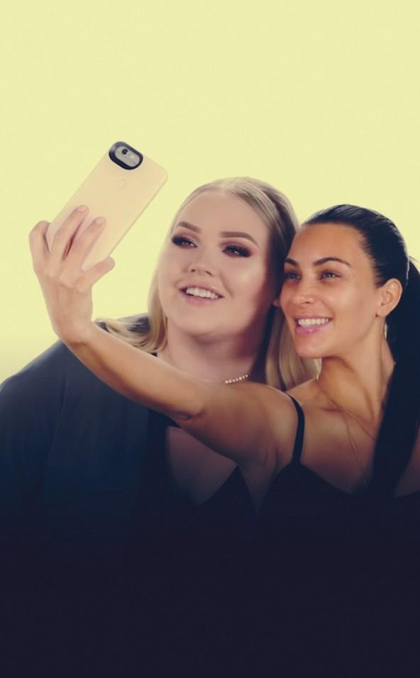 Nikkie en Kardashian